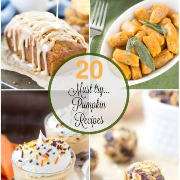 It's puimpkin season and you'll want to get your pumpkin fill with these delicious reipes!