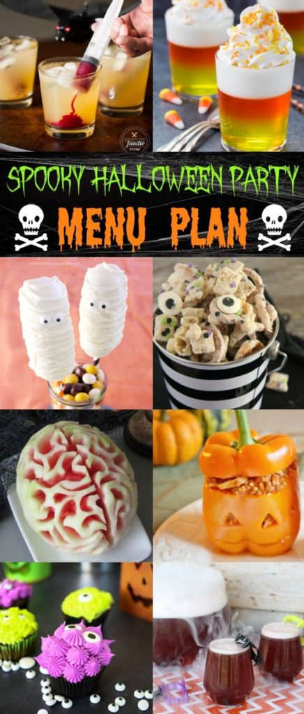 The Best Halloween Party Menu