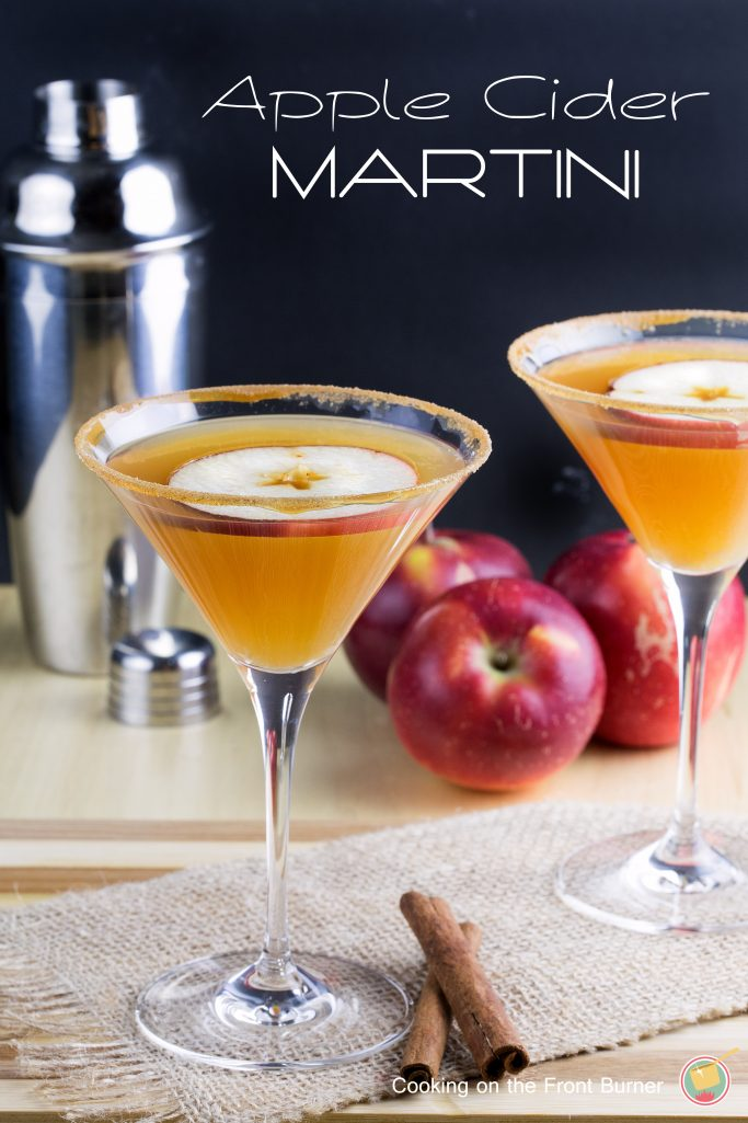 A delicious adult fall drink