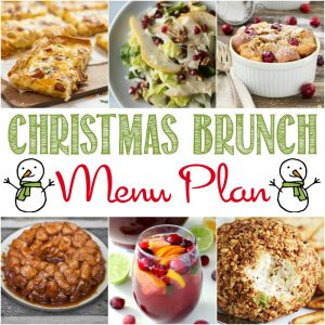 BEST CHRISTMAS BRUNCH MENU