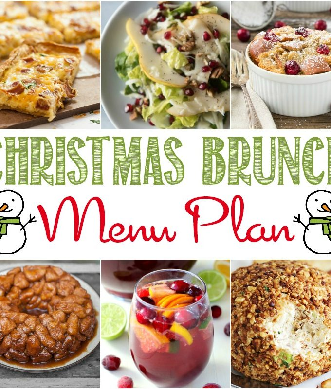 Have a holly jolly Christmas with this Best Christmas Brunch Menu.  You and your guests will love waking up in the morning to enjoy everything from beverages to dessert.
