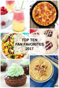 Top Ten Fan Favorites from 2017!!