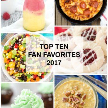 Top Ten Fan Favorites from 2017!!