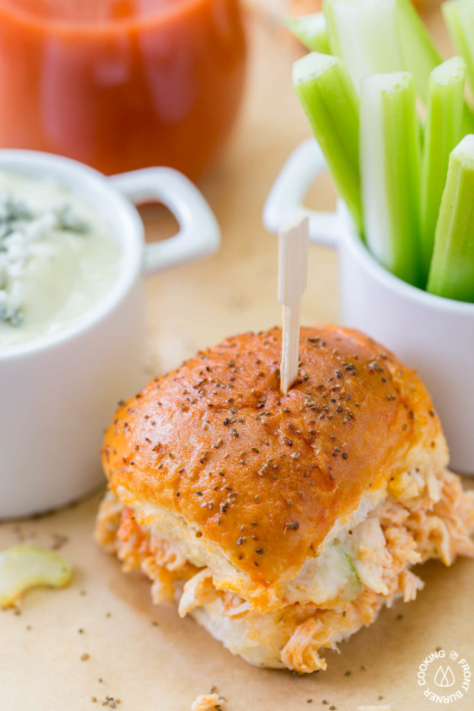 recipe: easy buffalo chicken sliders [20]