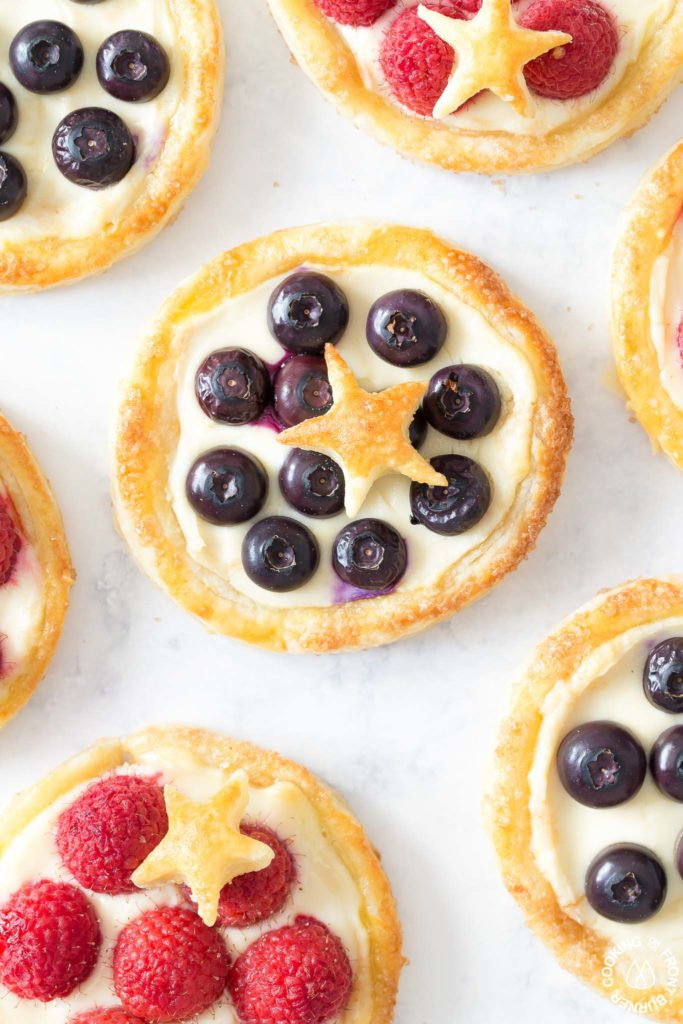 baked pastry tarts