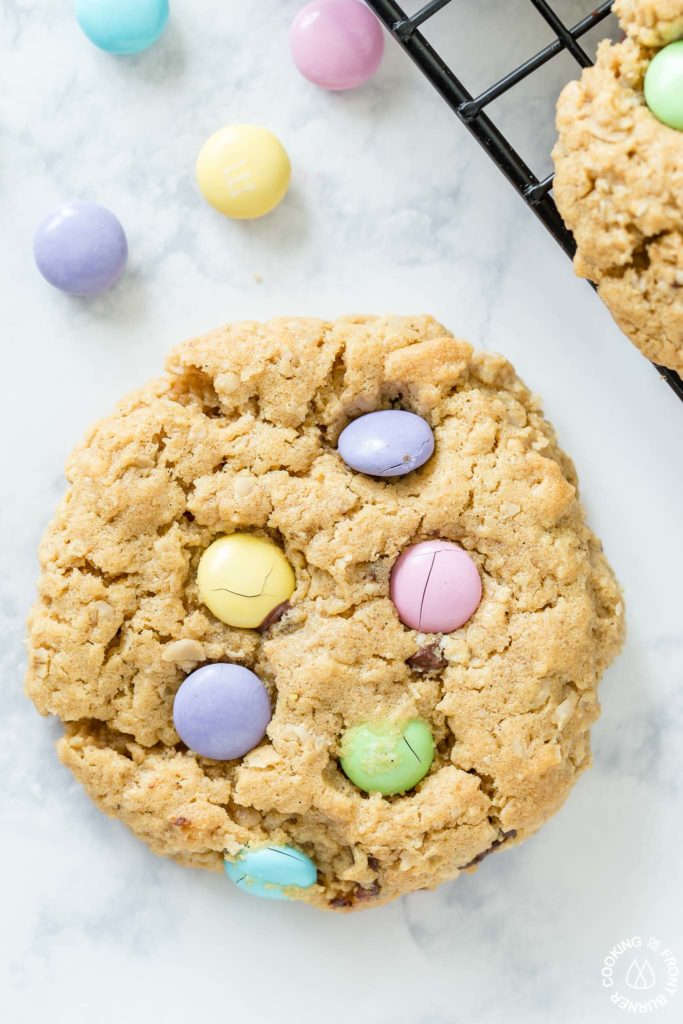 cookie with M&Ms
