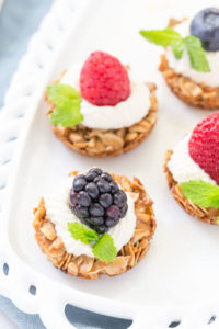 FRUIT YOGURT GRANOLA BITES