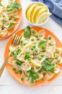SPRINGY LEMON BOW TIE SALAD