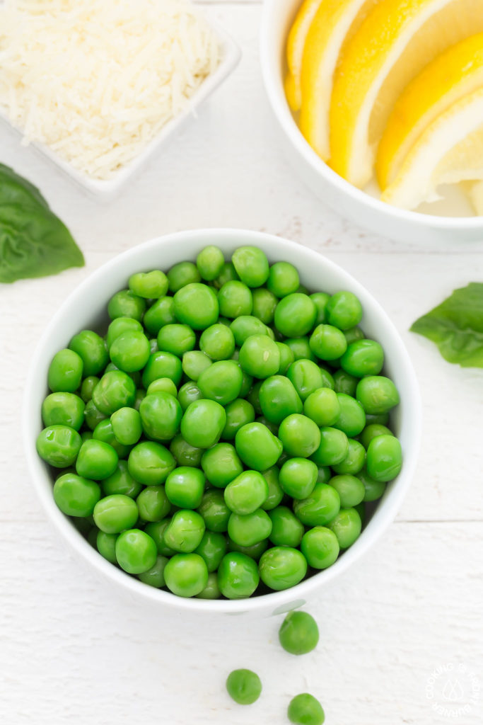 peas in a dish