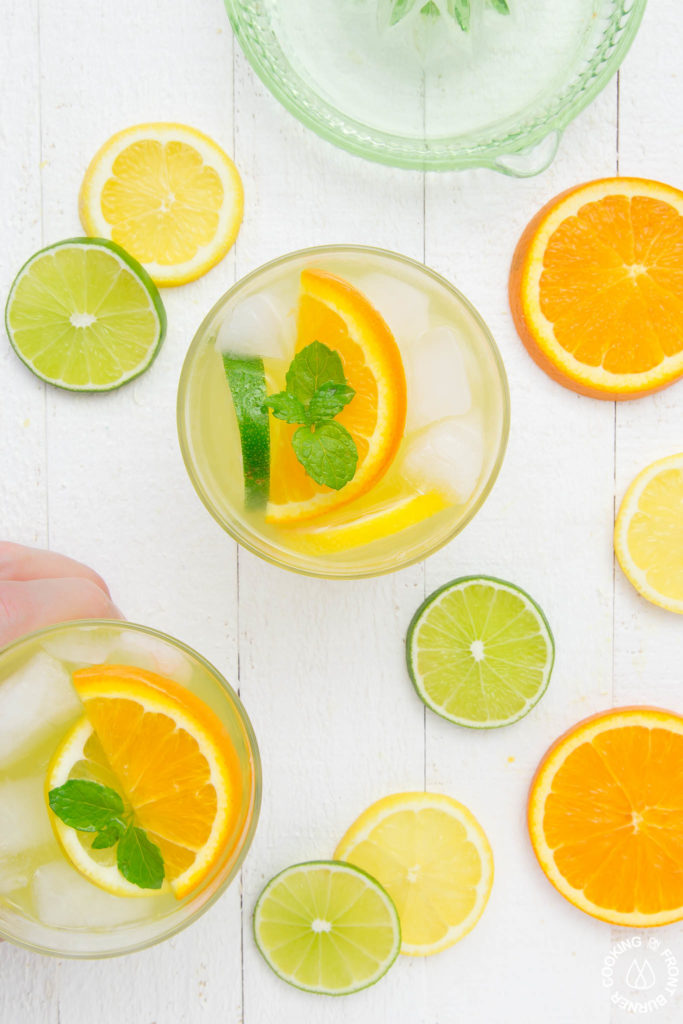 lemon lime orange cocktail
