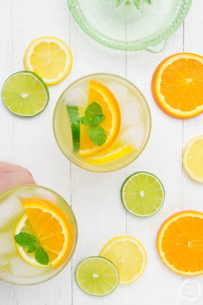 lemon lime orange cocktail