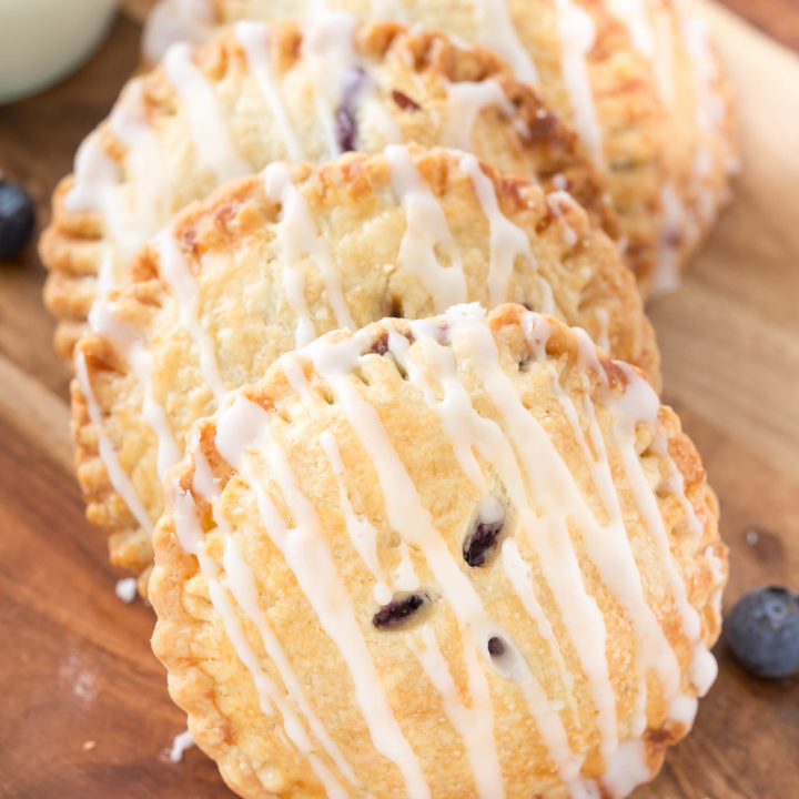 Homemade Blueberry Hand Pies