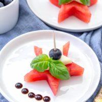 Watermelon Caprese Bites