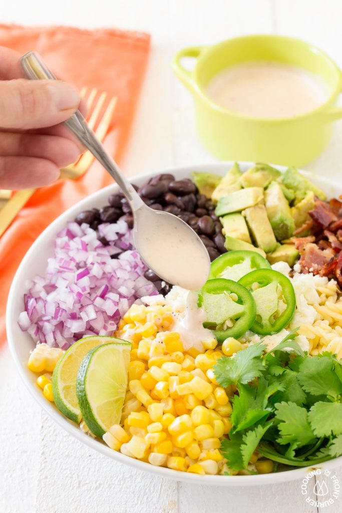 Mexican salad dressing