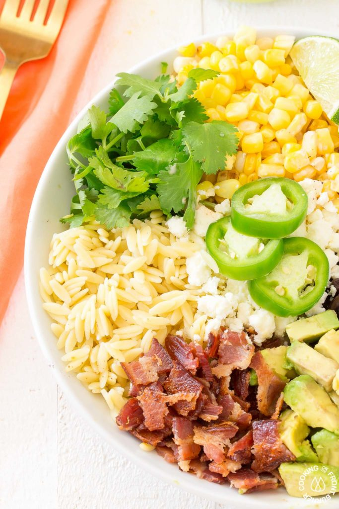side mexican salad in a bowl