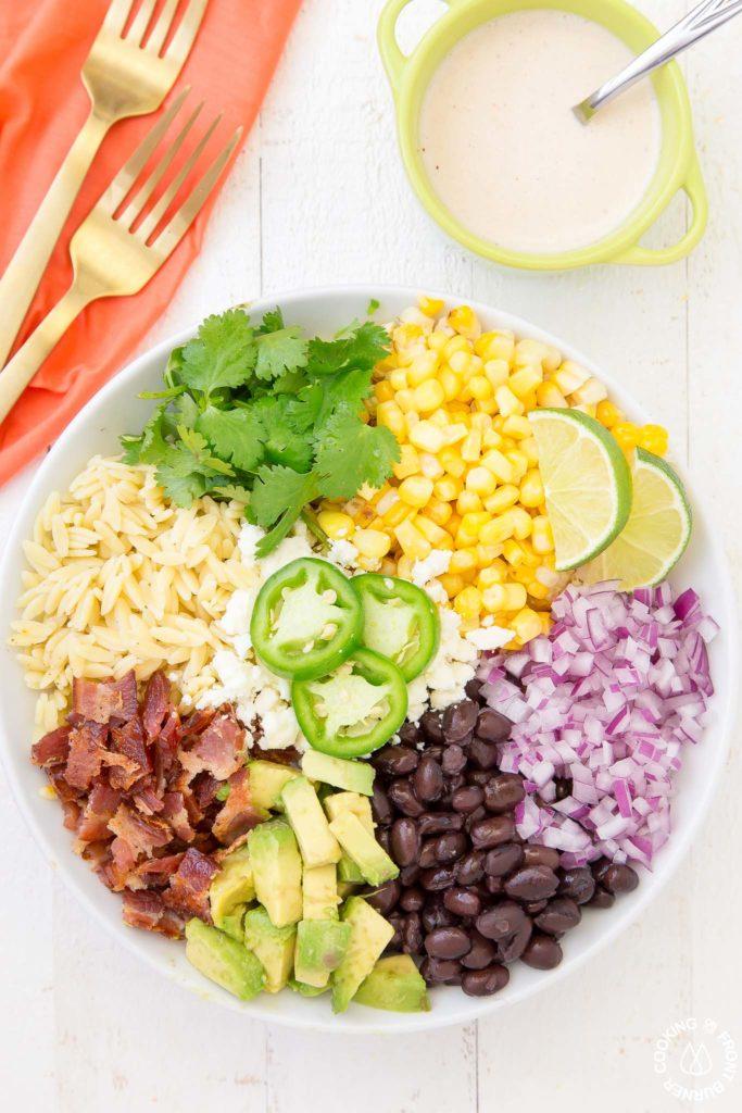 Mexican Street Corn Orzo Salad