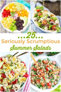 SERIOUSLY SCRUMPTIOUS SUMMER SALADS