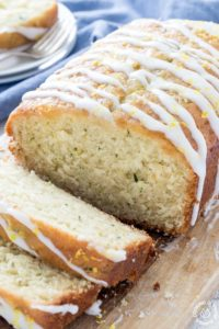 Lemon Zucchini Quick Bread