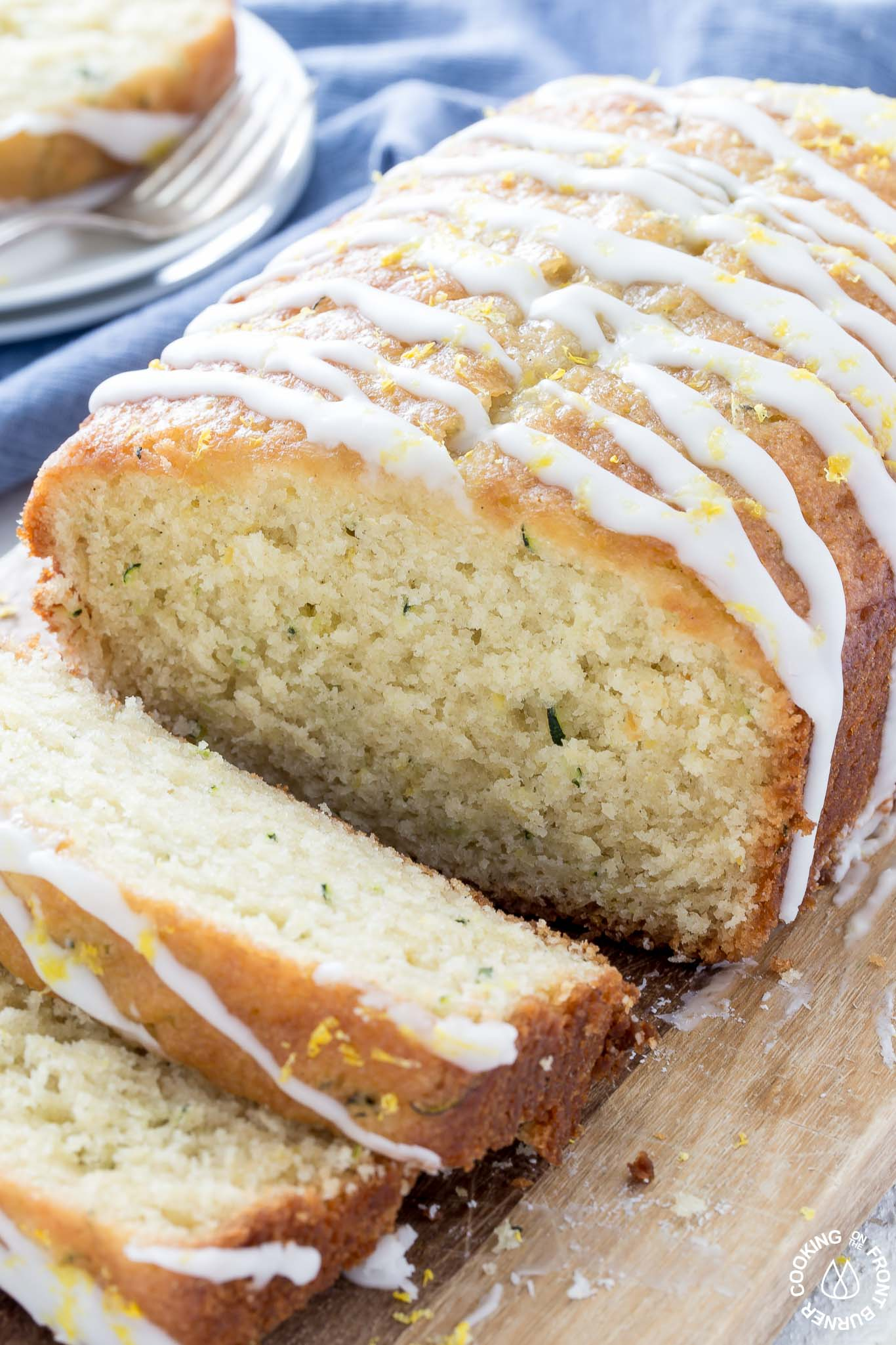 Lemon Zucchini Quick Bread with Yogurt | Cooking on the ...
