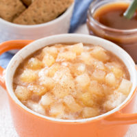 Apple Pie Caramel Dip