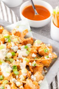 BUFFALO CHICKEN TOTCHOS