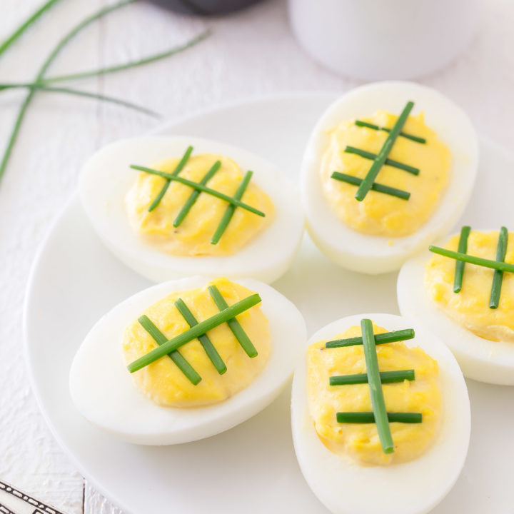 Game Time Deviled Eggs