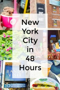 New York City in 48 Hours
