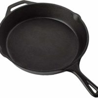 Pre Seasoned Cast Iron Skillet (12.5 inch) by Utopia Kitchen