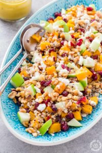 Butternut Squash Apple Quinoa Salad