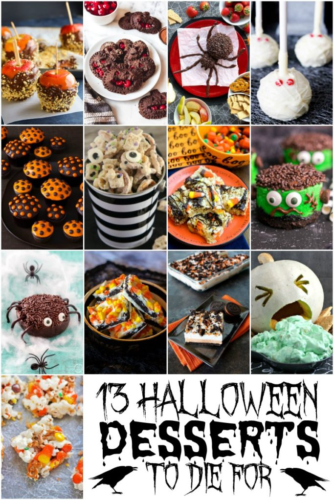 halloween chocolate cherry hand pies halloween cinder cake halloween rice crispy treats spooky spider chocolate cheese ball