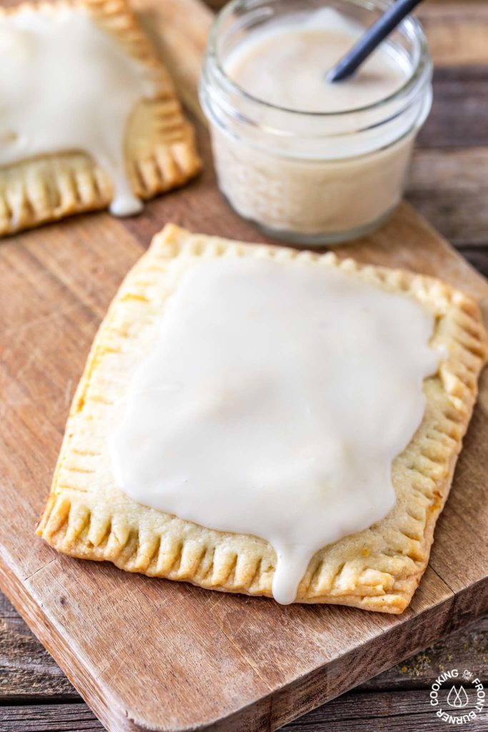 maple glazed pop tart