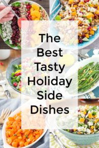 Tasty Holiday Side Dishes