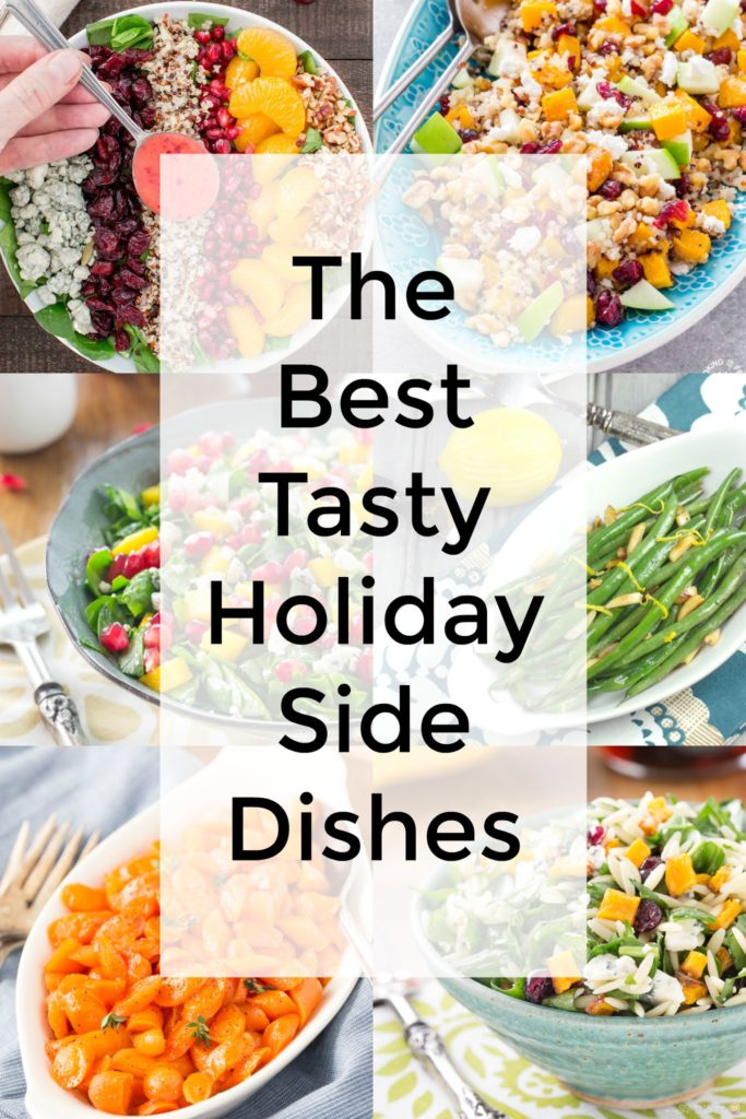 6 pictures of holiday side dishes