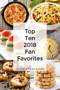 Top Ten 2018 Recipes
