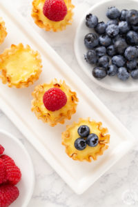 Lemon Ricotta Mini Tarts