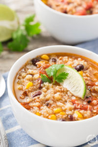 SOUTHWEST CHICKEN QUINOA SOUP