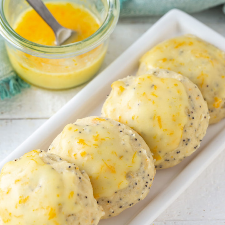 Orange Almond Ricotta Cookies