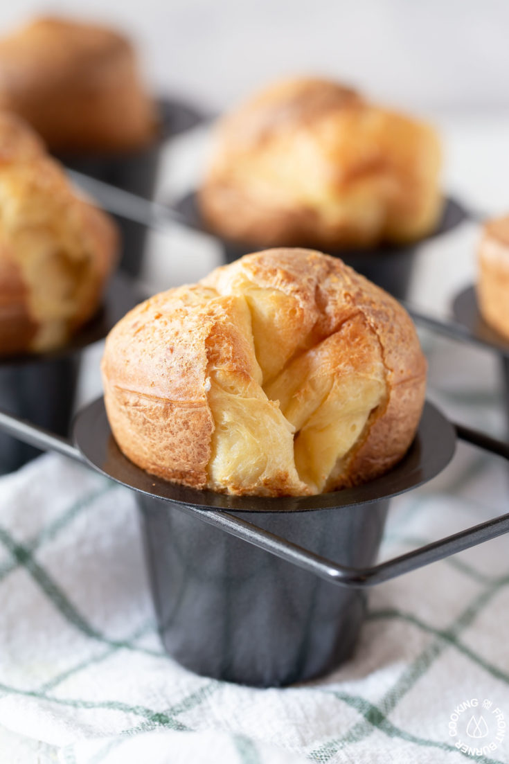 Easy Classic Popovers With Tips Cooking On The Front Burner