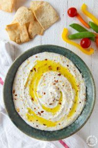 Lemon Whipped Feta Dip