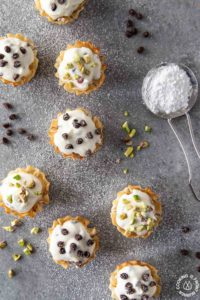 Mini Phyllo Cannoli Bites