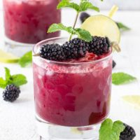 Blackberry Mint Gin Bramble
