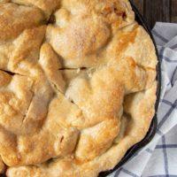 Iron Skillet Apple Pie