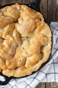 Iron Skillet Apple Pie