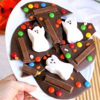 Spooky Halloween Bark - Easy Halloween Treat!