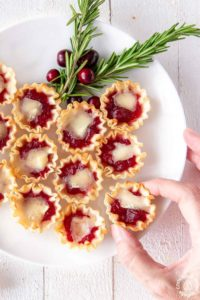 Cranberry Orange Brie Tarts