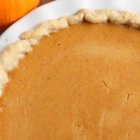 Triple Spice Pumpkin Buttermilk Pie