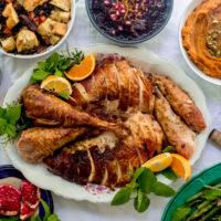 Roast Turkey with Citrus, Herbs and Za'atar