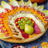 Thanksgiving Turkey Cheese Board Recipe