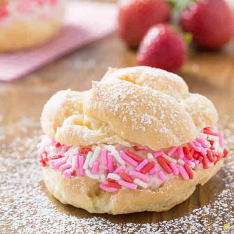 Pink Cream Puffs