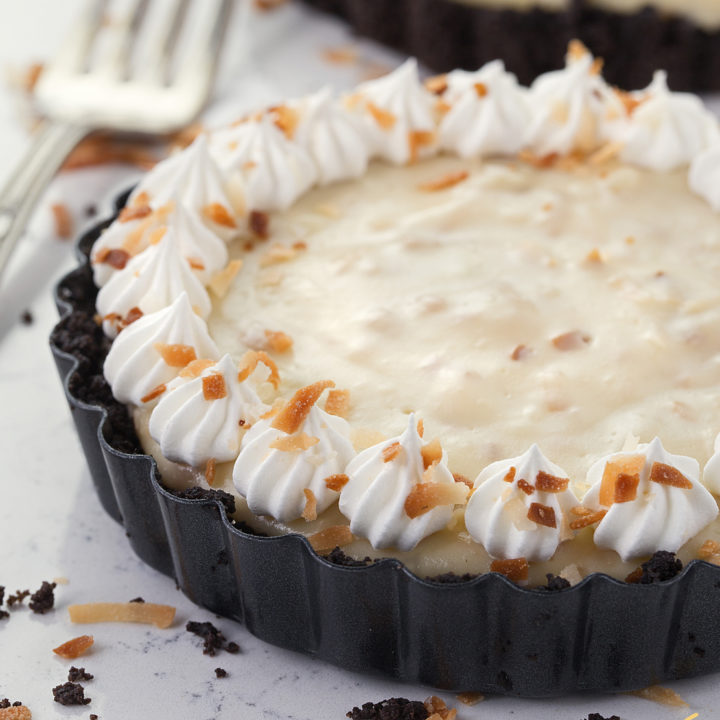 Old Fashioned Coconut Tart